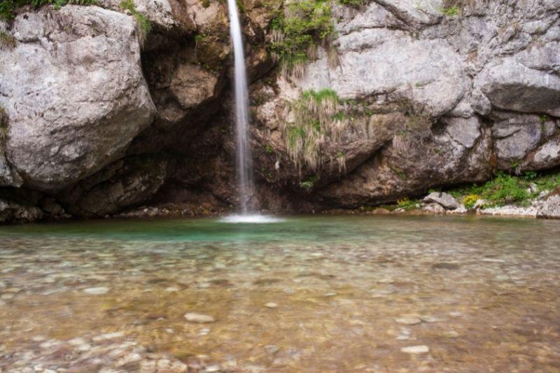 Najvišji slap v Sloveniji